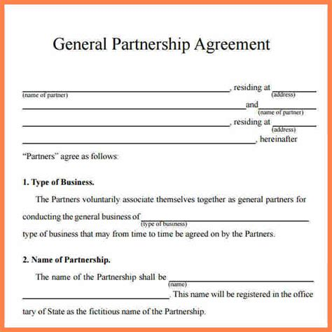 business cooperation agreement template purchase