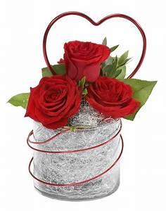 Composition Florale Facile Pour La Saint Valentin
