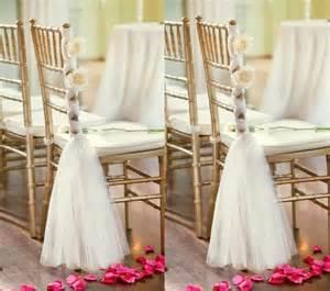 wedding chair bows glamorous meet wedding chair flower decoration ideas weddceremony