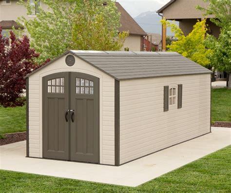lifelong sheds lifetime 60120 8 x 20 storage shed on sale with fast