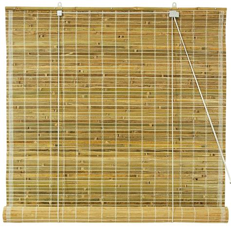 Roll Up Blinds by Furniture Burnt Bamboo Roll Up Window Blinds