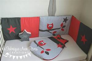 Davausnet chambre bebe gris rouge avec des idees for Idee deco cuisine avec lit king size