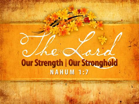 strength  stronghold powerpoint fall thanksgiving