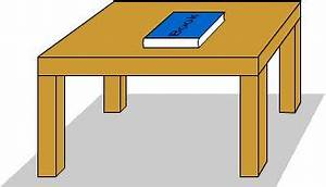 Table clipart book - Pencil and in color table clipart book