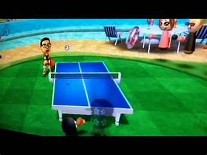 Wii Sports Resort Table Tennis Superstar Class. Shouta - YouTube  Table Tennis Sports