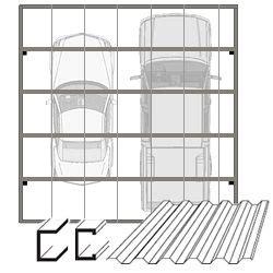 steel carport kit steel carports carport kits double carport
