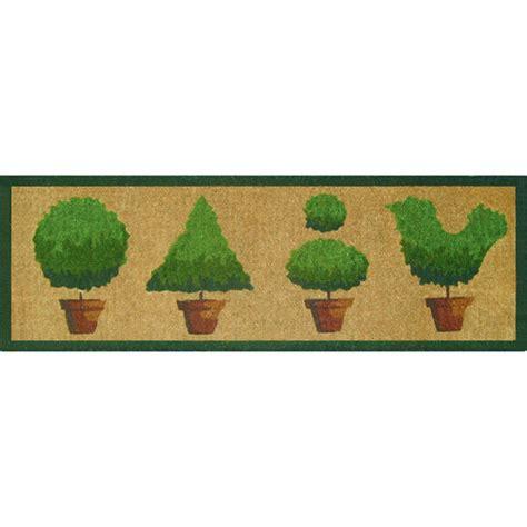 Topiary Doormat by Topiaries Doormat Temple Webster
