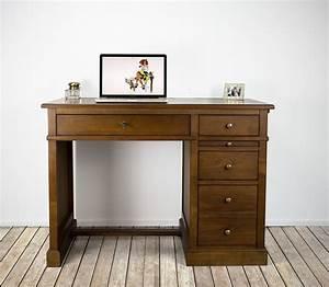 petit bureau lucie en merisier de style louis philippe With petit meuble merisier louis philippe