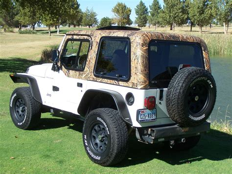 camo jeep yj quot new quot jeep wrangler tj and jk camouflage hardtops choose