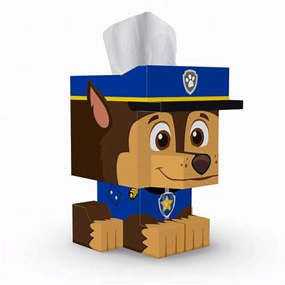 Patrol Paw Pack Case Tissue Cube
