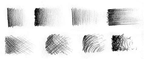 Verschiedene Strukturen Zeichnen by Zeichnen Lernen Zeichentechnik