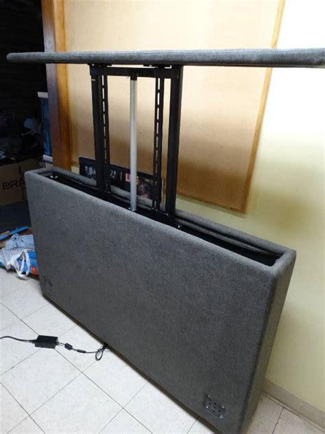 tv lift footboard serta motion custom tv lift footboard new in box