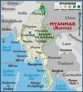 Dsc0001  Burma  Shan Table Land  Shan Plateau Map