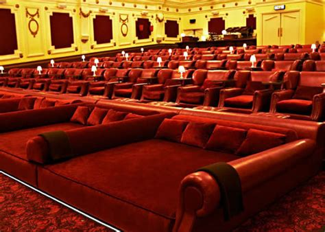 Bedroomthemed Movie Theaters  Electric Cinema