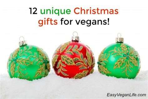 12 unique christmas gifts for vegans