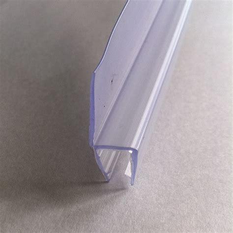 glass shower door seal simple bath shower screen door seal for 4 6mm glass ebay