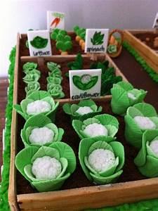 Vegetable Garden Cake In My Kitchen Pinterest