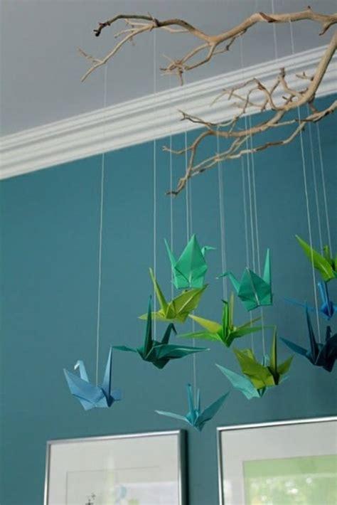 Kinderzimmer Deko Vögel by Origami V 246 Gel Tiere Kinderzimmer Deko Idee Baby