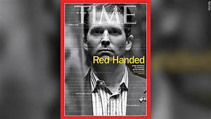 Donald Trump Jr. 'red handed' on Time cover