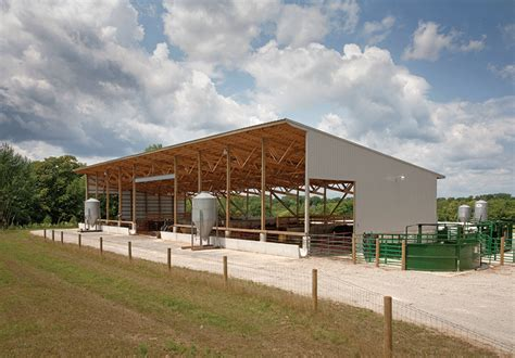 Cattle Barns Designs by Cutler In Monoslope Beef Barn Summit Livestock Facilities
