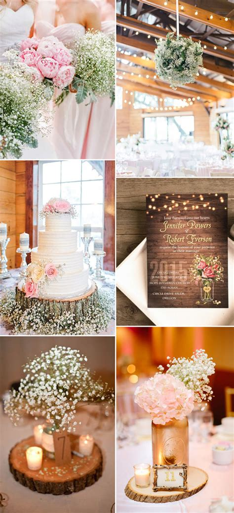 great ways    rustic weddings  elegant