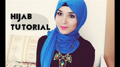 hijab tutorial  jersey scarf youtube