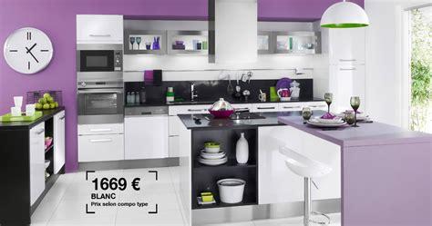 prix cuisine lapeyre cuisine silver lapeyre photo 7 20 couleurs blanc et