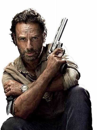 Rick Grimes Walking Dead Season Render Twd