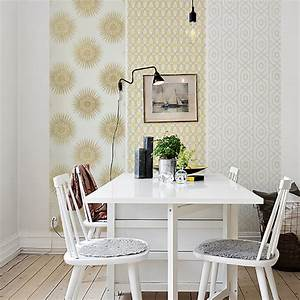 le papier peint l39expression du style lsd magazine With couleur pour un salon 2 papiers peints pour une chambre scandinave blog au fil