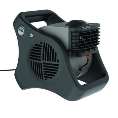 lasko 15 in tall misto outdoor misting fan 7050 the