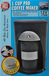 Kaffee Pad Automat : 1 tassen pad kaffeemaschine 12 v 170 w reise kfz auto kaffee maschine automat ebay ~ Frokenaadalensverden.com Haus und Dekorationen