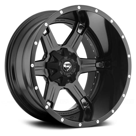 black wheels fuel driller wheels black rims
