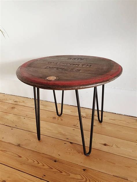 Double barrelled danny table is perfect addition to danny tub chairs. Pin by Martha McCafferty on Meg's House | Barrel table, Coffee table, Wooden side table