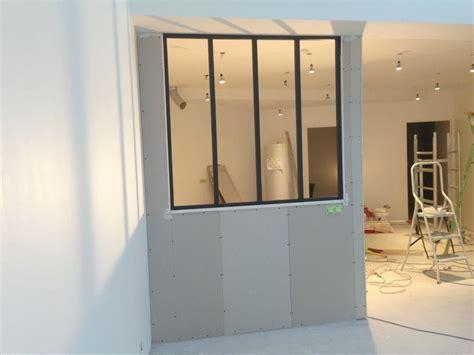 separation vitree cuisine salon cuisine séparation vitrée bricolage tuto faire soi