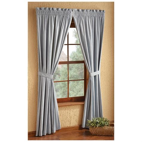 springfield stripe insulated curtains  curtains