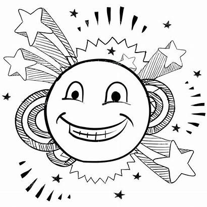 Coloring Smiley Face Emoji Pages Smile Printable