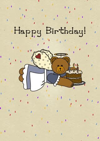Now we recommend you to download first result happy birthday dad song mp3. Cute Country Angel Bear With Cake. Free Happy Birthday eCards | 123 Greetings