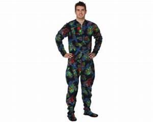 Combinaison Pyjama Homme Polaire : pyjama polaire 1 pi ce combi grenouill re homme chaude ~ Mglfilm.com Idées de Décoration