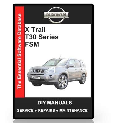 nissan  trail  series workshop manual