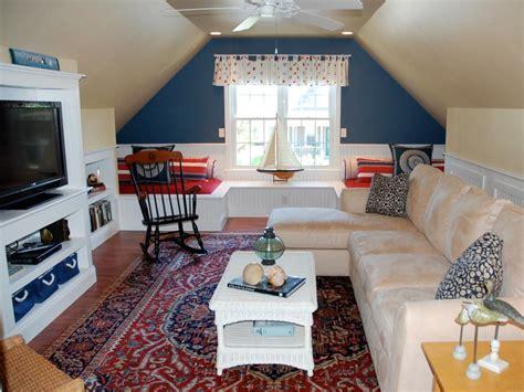 attic tv room diy ways to transform an attic into a great room