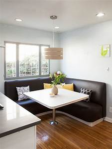 12 Ways To Make A Banquette Work In Your Kitchen HGTV39s