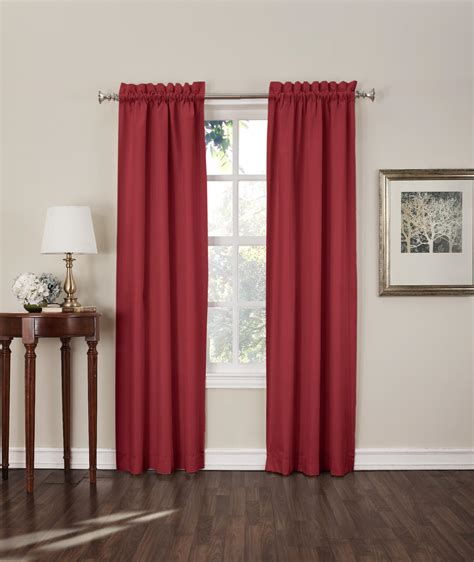 kmart australia blackout curtains sun zero shawn room darkening window curtain panels 2