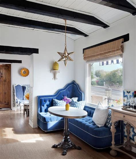 tray ceiling  wood beams design ideas