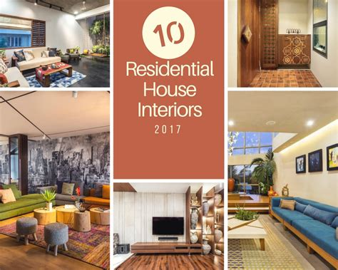 top  residential house interiors  india