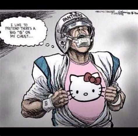 Panthers Suck Meme - nfl carolina panthers suck kitties sports pinterest panthers carolina panthers and nfl