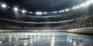 Hockey arena Wall mural   Photo wallpaper   Hockey - Happywall
