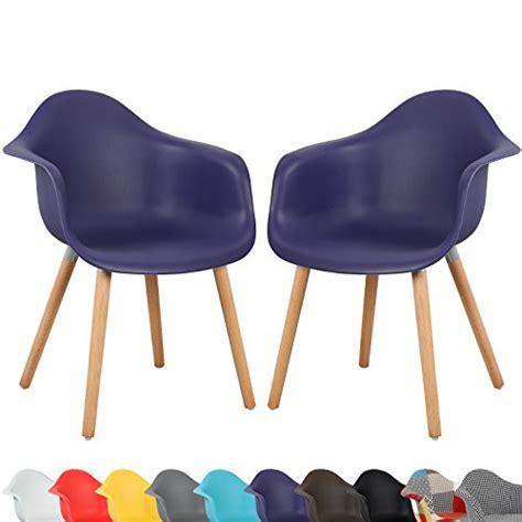 chaise de couleur en plastique woltu 499 a lot de 2 chaises en plastique de