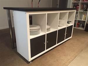 Table De Cuisine Ikea : ilot de cuisine style ikea pas cher ~ Teatrodelosmanantiales.com Idées de Décoration