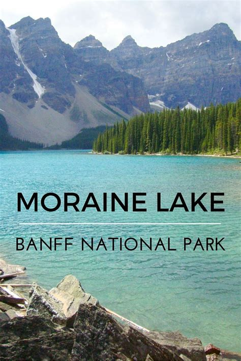Moraine Lake Lures Thousands Of Visitors To Banff National