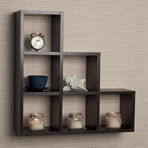wall mounted shelf 17 types of cube shelves bookcases storage options